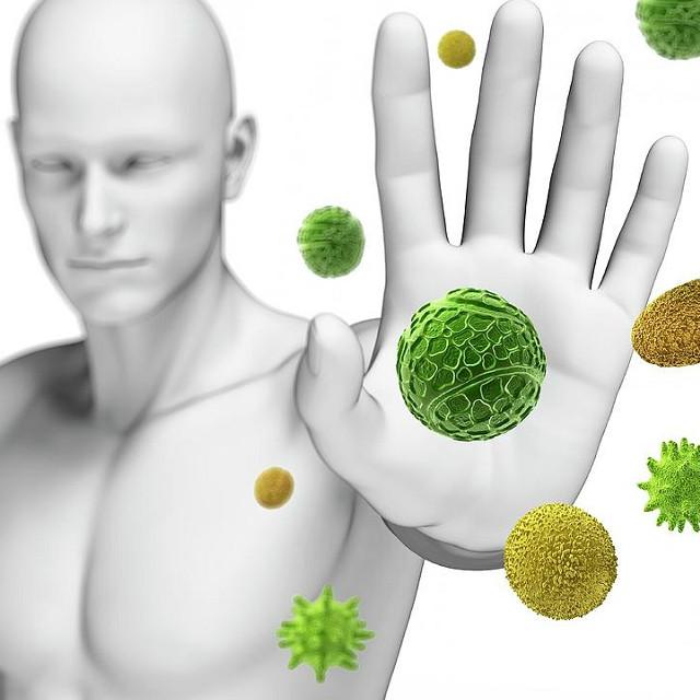 Hệ miễn dịch giúp cơ thể chống lại những tác nhân gây ra bệnh như vi khuẩn, vi rút.