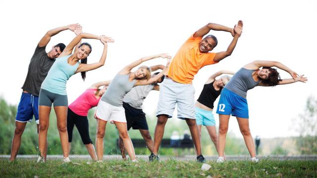 Tập luyện thể dục thể thao